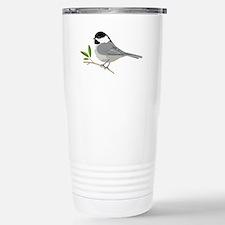 Black-Capped Chickadee Travel Mug