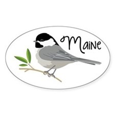 maiNe Chickadee Decal