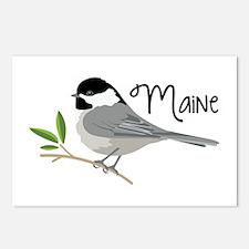 maiNe Chickadee Postcards (Package of 8)