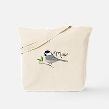 maiNe Chickadee Tote Bag