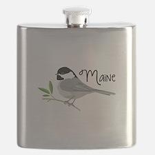 maiNe Chickadee Flask