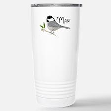 maiNe Chickadee Travel Mug