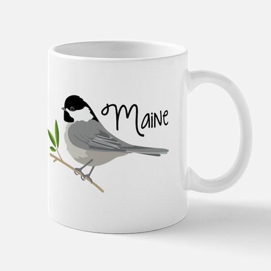maiNe Chickadee Mugs