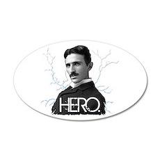 HERO. - Nikola Tesla Wall Decal