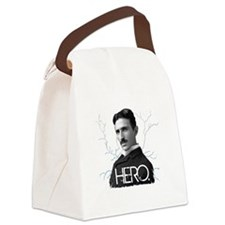 HERO. - Nikola Tesla Canvas Lunch Bag
