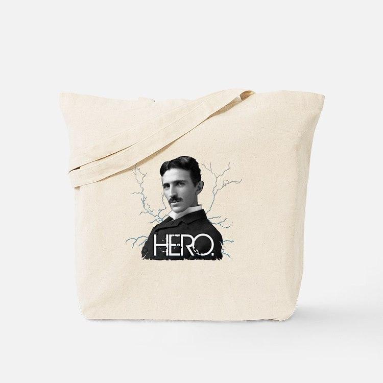 HERO. - Nikola Tesla Tote Bag