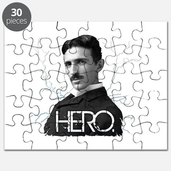 HERO. - Nikola Tesla Puzzle