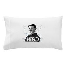 HERO. - Nikola Tesla Pillow Case
