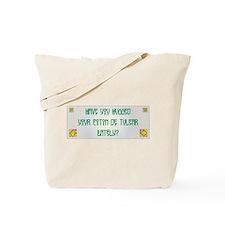 Hugged Coton Tote Bag