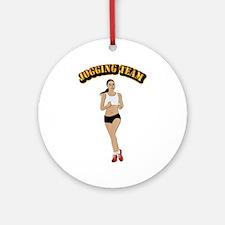 Jogging Team Ornament (Round)