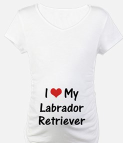I Heart My Labrador Retriever Shirt
