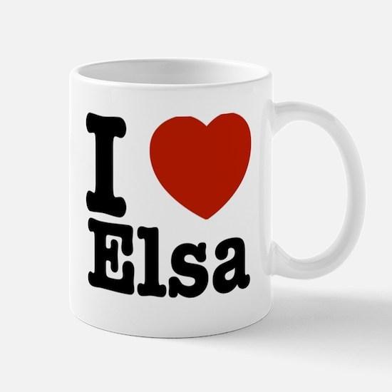 I love Elsa Mug