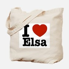 I love Elsa Tote Bag