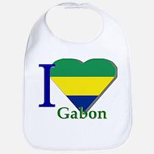 I love Gabon Bib