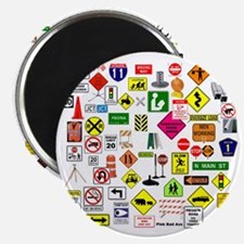 Street Signs Magnet