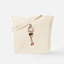 Jogging No Txt Tote Bag