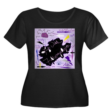 Life With Fibromyalgia Plus Size T-Shirt