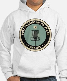 Putt Plastic In Its Place Hoodie