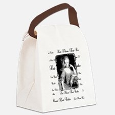 Let Them Eat Cake Canvas Lunch Bag