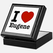 I love Eugene Keepsake Box