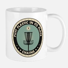 Putt Plastic In Its Place Mugs