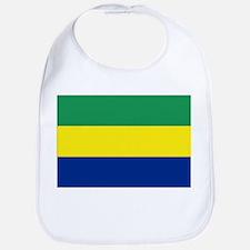 Gabon flag Bib