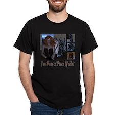 Zombie Piece Of Me Dark T-Shirt