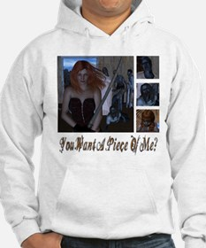 Zombie Piece Of Me Hoodie