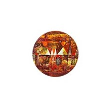 Paul Klee - Nocturnal Festivity Mini Button