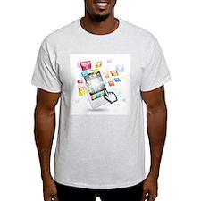 social media technologie T-Shirt