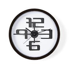 Design Futuristic 3d White Wall Clock