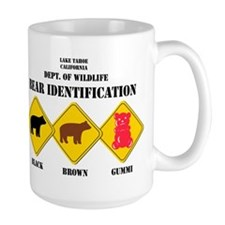 Gummi Bear Warning - Tahoe Mugs