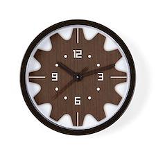 Design Futuristic Wood Wall Clock