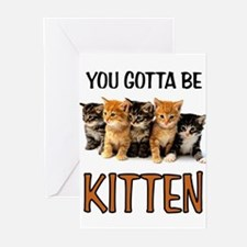 KITTENS Greeting Cards