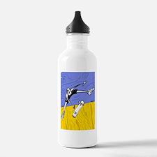 Half Pipe Skateboarder Water Bottle