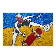 Halfpipe Skater 2 Postcards (Package of 8)