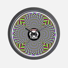 Hypnoghost Roundabout Wall Clock