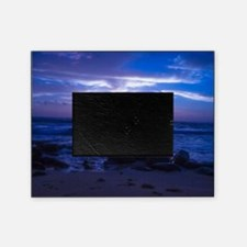 Beautiful blue Kauai sunset. Picture Frame