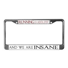 Mental Sport License Plate Frame