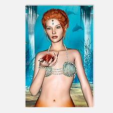Fairytale Mermaid Postcards (Package of 8)
