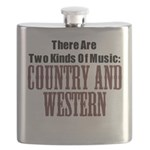 Country Western Flask