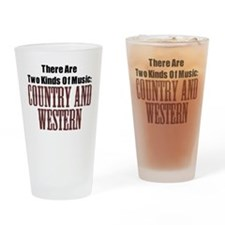 Country Western Drinking Glass