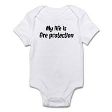 Life is fire protection Infant Bodysuit