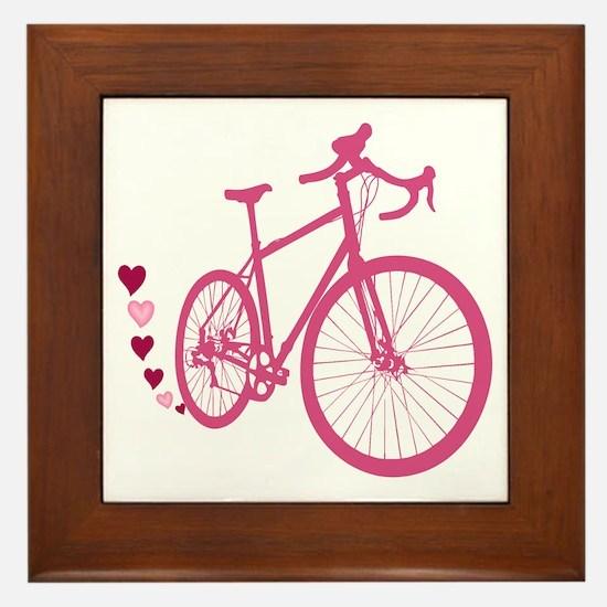 Bike Love Framed Tile