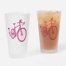 Bike Love Drinking Glass
