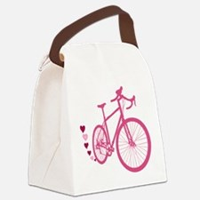 Bike Love Canvas Lunch Bag