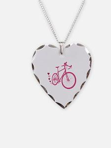 Bike Love Necklace