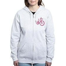 Bike Love Zip Hoodie