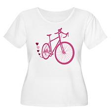 Bike Love Plus Size T-Shirt