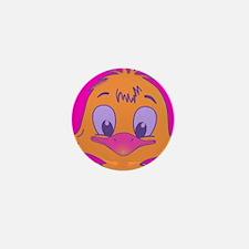 chick pink Mini Button